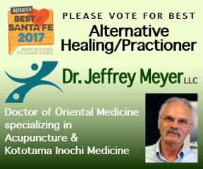 Vote for Dr. Jeffrey Meyer as Best Alternative Healing/Practitioner
